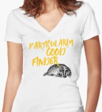 Good Finders Women's Fitted V-Neck T-Shirt