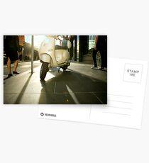 Vespa Chic Postcards