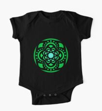 Centered on Green One Piece - Short Sleeve