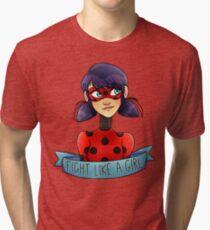 Miraculous Girl Tri-blend T-Shirt