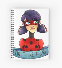 Miraculous Girl Spiral Notebook