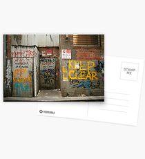 Rear Lounge Postcards