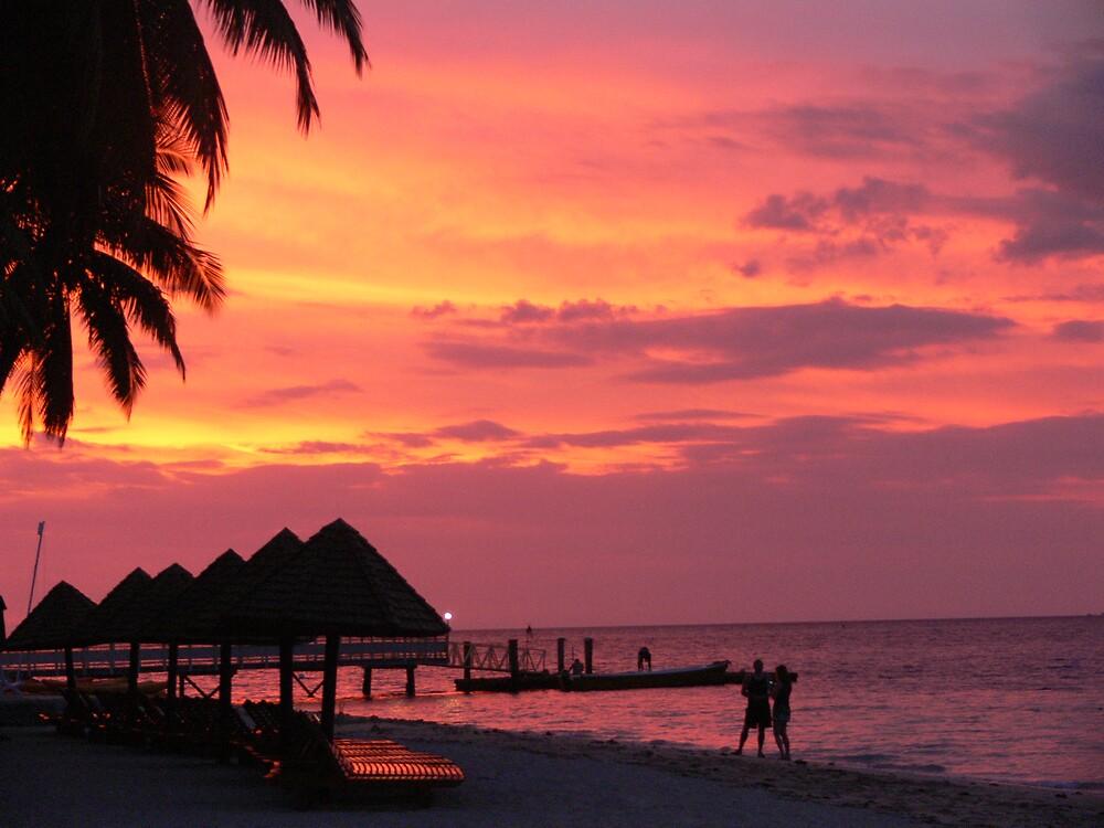 Island Sunset by Abby Tropea