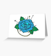 7313b04b78d04 Neo Traditional Tattoo Greeting Cards | Redbubble