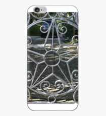 wrought iron star  iPhone Case