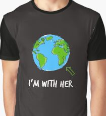 March For Science I'm With Her Graphic T-Shirt
