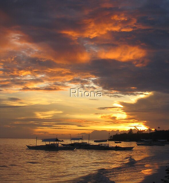 Sunset by Rhona