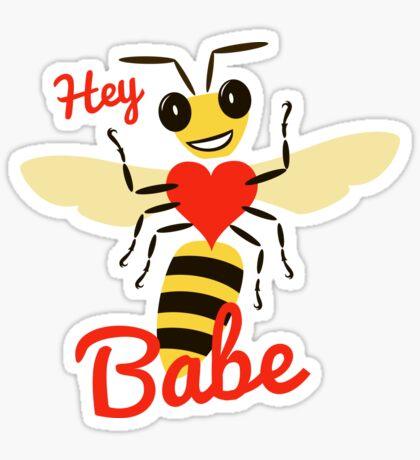 Love Bee (Valentine) Sticker