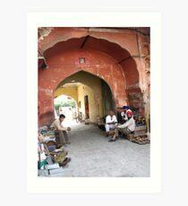 Jaipur Art Print