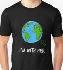 March For Science I'm With Her Unisex T-Shirt