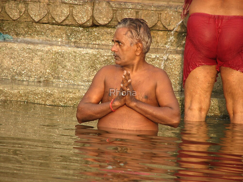 Varanasi by Rhona