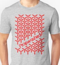 Interlocking Red Quadcopter Props T-Shirt