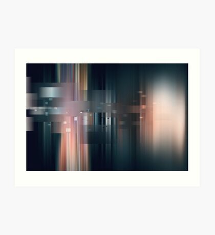 Cathedrals in B-Major Art Print