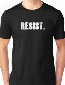 Political Protest Resist T-Shirt Unisex T-Shirt