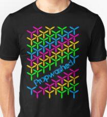 Cascading Rainbow Quadcopter Propellers Unisex T-Shirt