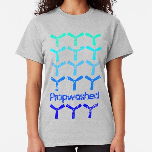 Propwashed Bullnose Prop Blues Classic T-Shirt
