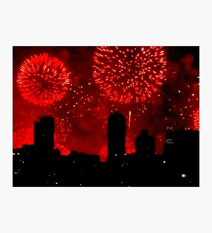 July 4th, New York City Photographic Print