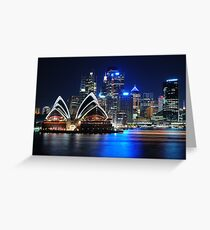 Harbour Sails Greeting Card