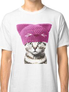 Pussyhat cat Classic T-Shirt