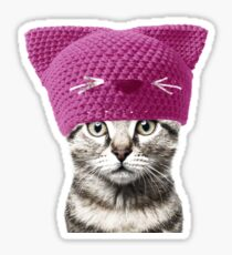 Pussyhat cat Sticker