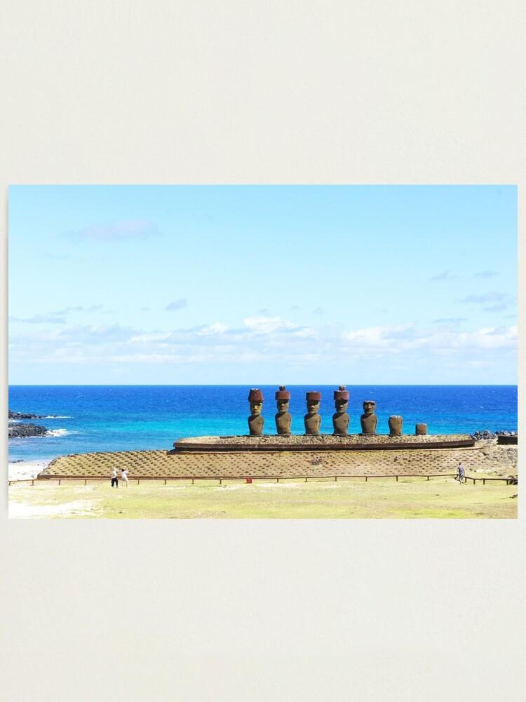 Alternate view of Anakena Photographic Print