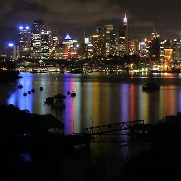 Night Rainbow by roger