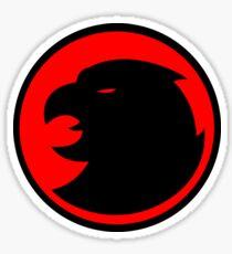 Hawkman / Hawkgirl Logo Sticker