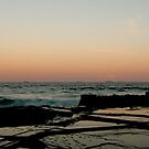 merewether rocks by Ty Cooper