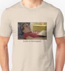 Skam - Isak Cries In Norwegian T-Shirt, Clothes, Stickers, Merchandise Unisex T-Shirt