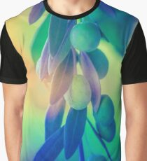 Olive Branch in Color Graphic T-Shirt