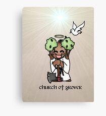 Church of Grover Canvas Print