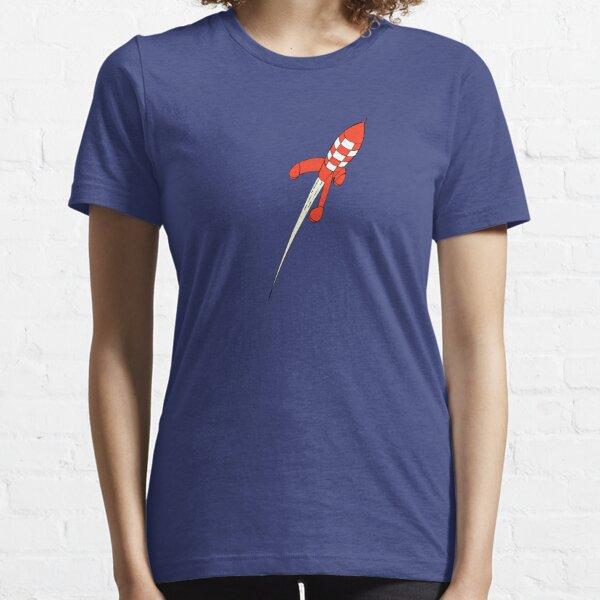 Tintin Destination Moon Rocket Essential T-Shirt