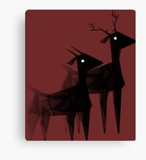 Geometric animals 4 Canvas Print