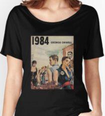 Camiseta ancha para mujer 1984 - George Orwell