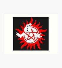SPN Ghostbusters Art Print