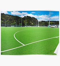 Artificial Sports Field Poster