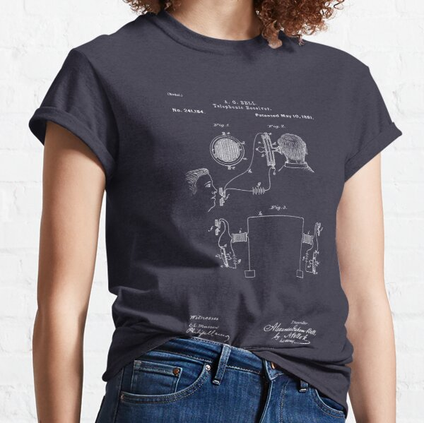 A. G. Bell Telephone Receiver Patent Classic T-Shirt