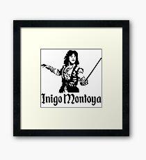 Inigo Montoya Framed Print