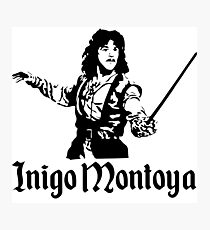 Inigo Montoya Photographic Print