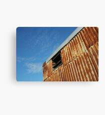 Sky and Rust Canvas Print