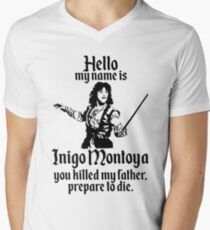 Hello My Name is Inigo Montoya Men's V-Neck T-Shirt