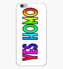 Ja Homo (einfache Schrift) iPhone-Hülle & Cover
