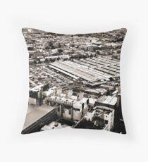 QV Market Throw Pillow