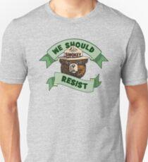 "Smokey Says, ""We Should Resist!"" T-Shirt"