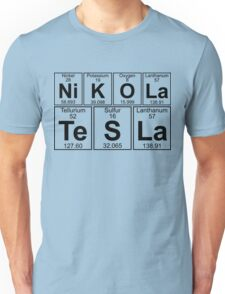 Ni K O La Te S La  Nikola Tesla Unisex T-Shirt