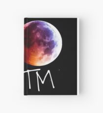 Man on the moon Hardcover Journal