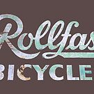 Rollfast Vintage Bicycles Sign by hilda74