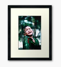 Crying Game Framed Print