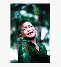 Crying Game Photographic Print