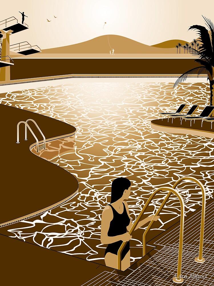 Poolside by Lara Allport